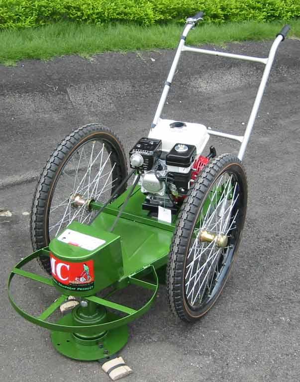 รถตัดหญ้า 2 ล้อ (รุ่นหนา สีเขียว )