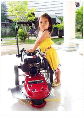 รถตัดหญ้ารุ่น มินิ 2 อิน วัน