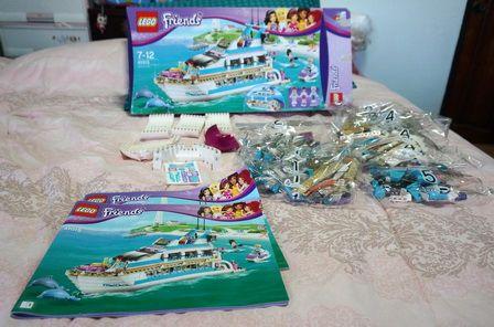 รีวิวของเล่นใหม่ LEGO FRIEND ชุดใหม่ ชุด LEGO FRIEND BOAT ( ชุดเรือสำราญ )