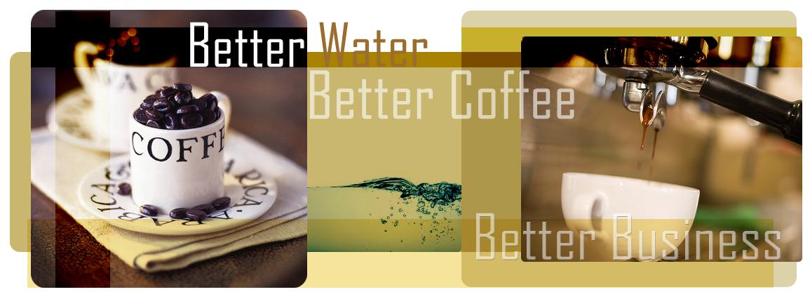 เครื่องกรองน้ำสำหรับเครื่องชงกาแฟ