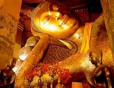 พระพุทธไสยาสน์วัดป่าโมก วัดป่าโมก จ.อ่างทอง