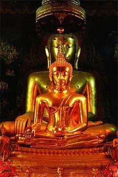 พระพุทธชินสีห์ วัดบวรนิเวศวิหาร กรุงเทพมหานคร