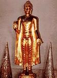 พระพุทธรูปปางคันธารราฐ หรือ พระพุทธรูปปางขอฝน ( ยืน )