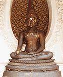 พระพุทธรูปปางรับผลมะม่วง