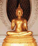 พระพุทธรูปปางประทานโอวาท หรือ พระพุทธรูปปางแสดงโอวาทปาติโมกข์