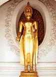 พระพุทธรูปปางปลงกัมมัฏฐาน หรือ พระพุทธรูปปางชักผ้าบังสุกุล