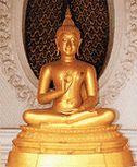 พระพุทธรูปปางปฐมเทศนาหรือ พระพุทะรูปปางแสดงธรรมจักร