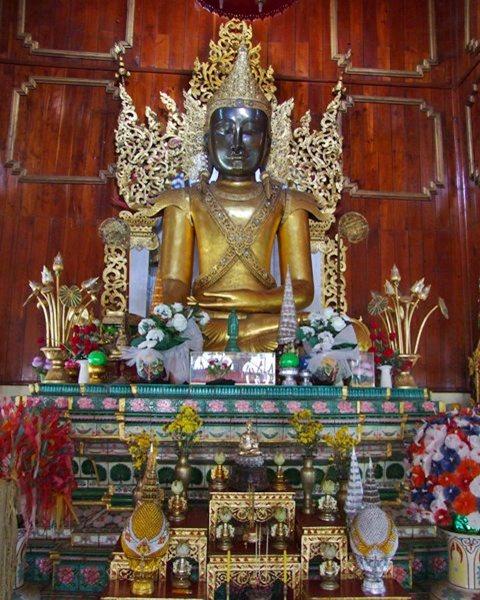 พระเจ้าพลาละแข่ง วัดหัวเวียง พระพุทธรูปคู่บ้านคู่เมืองแม่ฮ่องสอน