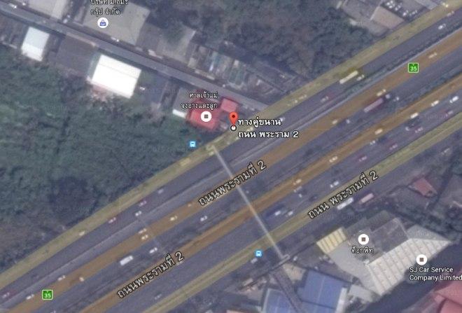 แผนที่ศาลเจ้าแม่งูจงอาง ถนนพระราม 2 (ซอย 48) เขตบางขุนเทียน