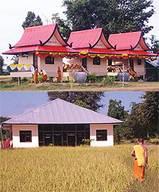 กุฏิหมู่ทรงไทย ศาลาการเปรียญ