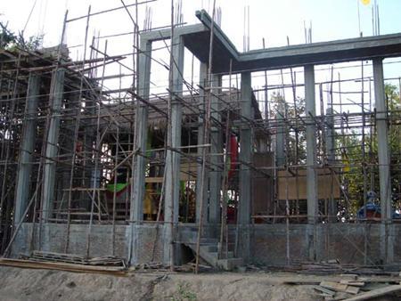 การก่อสร้างอุโบสถวัดบ้านน้อยท่าทอง