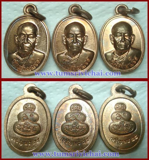 เหรียญเมล็ดฟักทองพ่อท่านนวล วัดไสหล้า จ.นครศรีธรรมราช