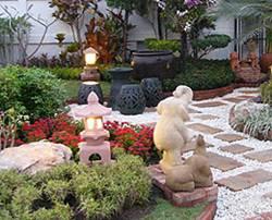 การจัดสวน เพื่อตกแต่งสวนภายในบ้าน