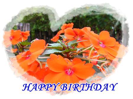 อวยพรวันเกิด HAPPY BIRTHDAY