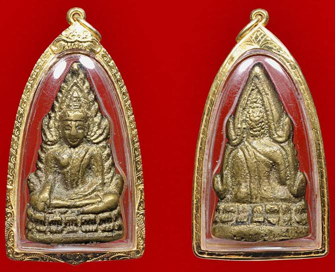 พระพุทธชินราชอินโดจีน 2485 พิมพ์ต้อบัวขีด, พระเครื่องพระพุทธชินราชอินโดจีน