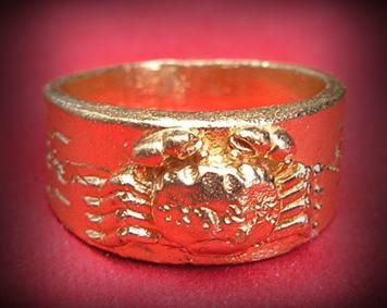 แหวนมอญปูหนีบทรัพย์ หลวงปู่นิ่ม วัดพุทธมงคล