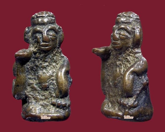 แม่นางกวัก ศิลปะนครศรีธรรมราช เนื้อขันลงหิน