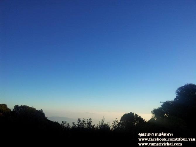 ทะเลหมอก (sea of mist)บนยอดดอยอินทนนท์ เชียงใหม่