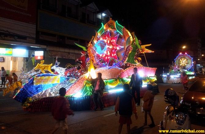 เทศกาลแห่ดาวคริสต์มาส สกลนคร Christmas in Sakon Nakhon