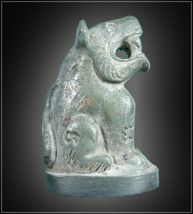 เสือหลวงพ่อล้าน วัดขนายเนื้อสัตตะโลหะ เสาร์ห้าปีขาล 2553