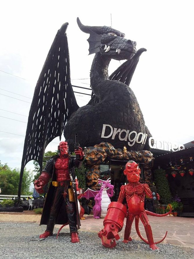 Dragon Coffee ดราก้อนคอฟฟี่ สำหรับนักเดินทาง