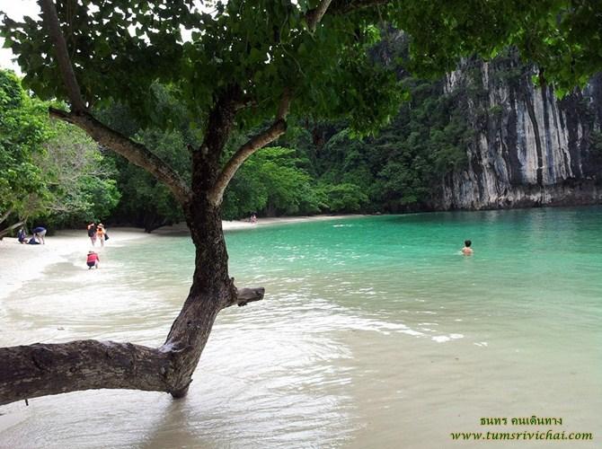 เกาะห้อง (KoH Hong) ทะเลสวยน้ำใสเขียวดั่งมรกต สถานที่ท่องเที่ยวสำคัญ