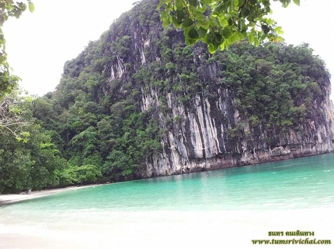 เกาะห้อง (KoH Hong) ทะเลสวยน้ำใสเขียวดั่งมรกต อุทยานแห่งชาติธารโบกขรณี จังหวัดกระบี่