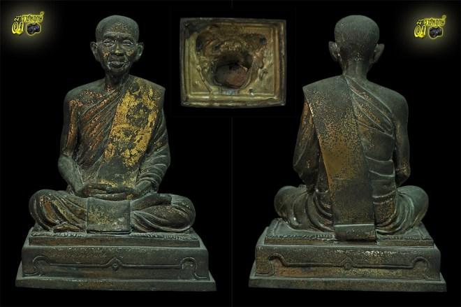พระบูชาหลวงปู่มหาพร้อม (ญาณวีโร) วัดตรีนิมิต หน้าตักห้านิ้ว