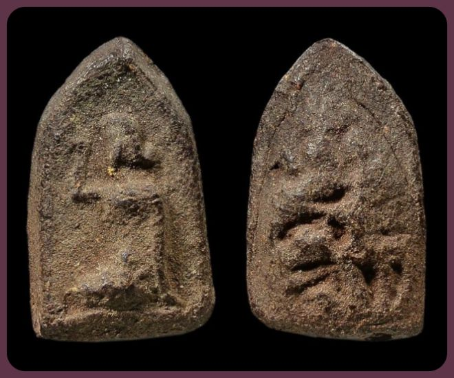 แม่นางกวัก พ่อท่านคล้าย พิมพ์จิ๋วคมชัด Thai Buddha Amulets