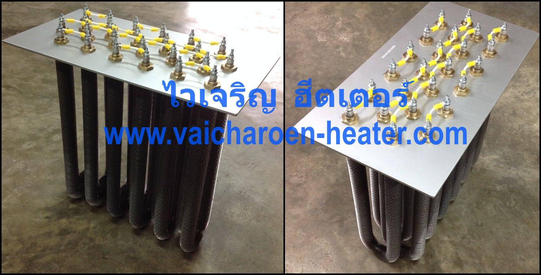 ฮีตเตอร์ลมร้อน ครีบ ตู้อบ เตาอบ ฮีทเตอร์ครีบ Fin heater