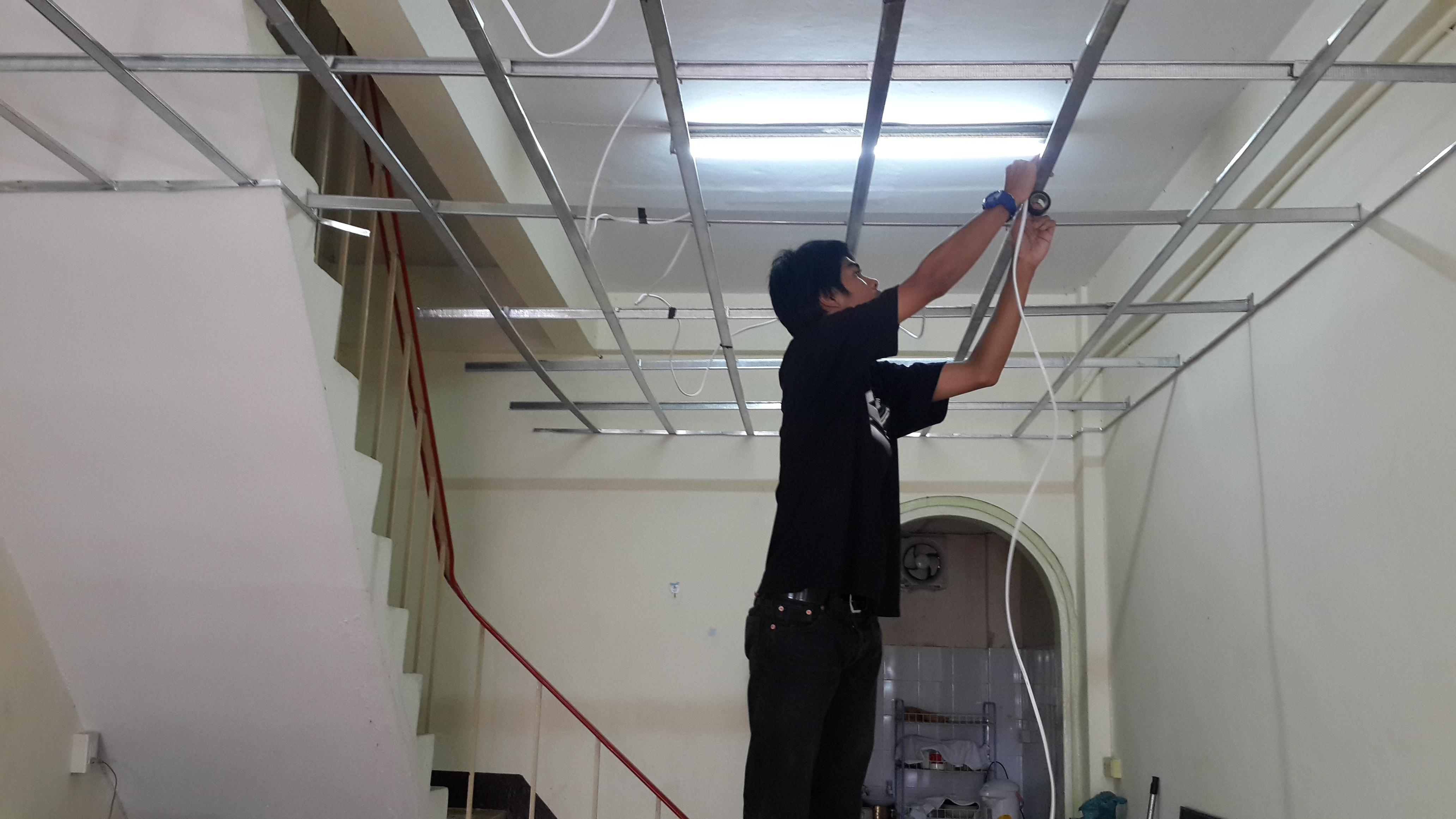 งานเดินไฟฟ้า ในอาคาร