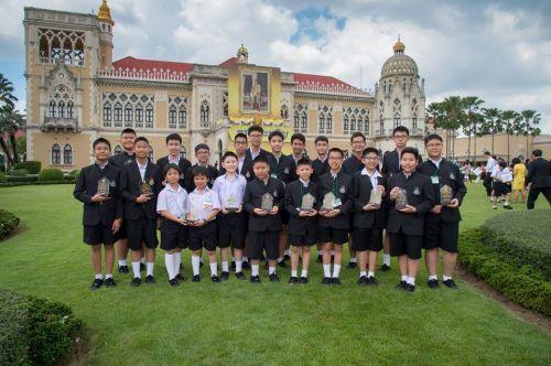 พี่น่านน้ำ กับรางวัลเยาวชนผู้สร้างชื่อเสียงให้ประเทศไทย ในวันเด็กแห่งชาติประจำปี 2560