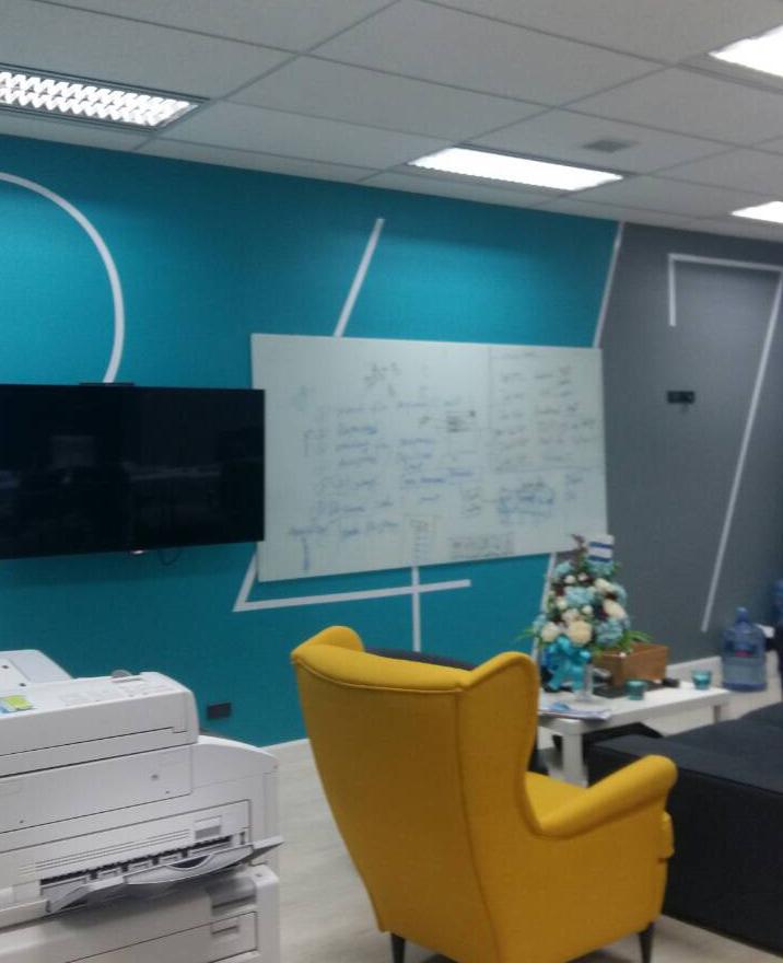 ป้ายภายในสำนักงาน Onner; Graphic Wall