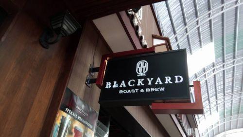 ป้ายไฟ Black Yard Pasio กาญจนาภิเษก