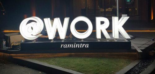 กล่องไฟอะคริลิกต่อขอบ @Work Ramintra