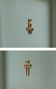 Toilet sign Knightbridge หลักสี่ Stainless Rose Gold