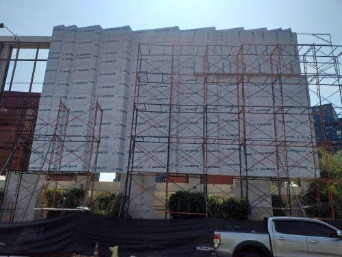 งาน Renovate ป้ายหน้าโครงการมัณฑนา บางนา